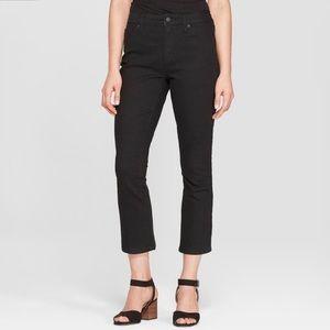 Universal Thread High Rise Kick Boot Crop Jeans 10